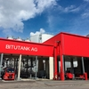 Picture of Bitumen loading station at BITUTANK AG in Switzerland